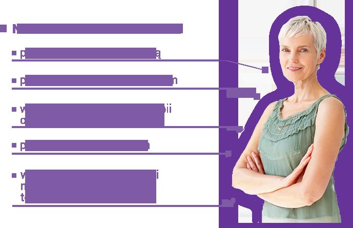 Starsza kobieta - informacje o stosowaniu Nutridrink