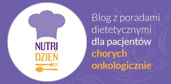 Grafika z odnośnikiem do Bloga z poradami dietetycznymi