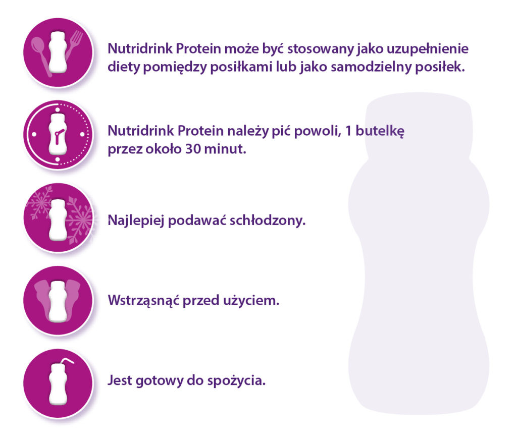 Nutridrink Protein Nutricia Oncology