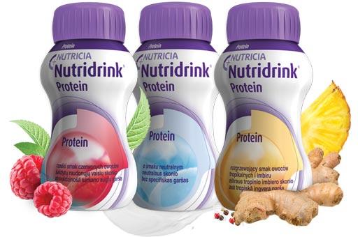 Zdjęcie prduktu Nutridrink Protein InnowacyjneSmaki